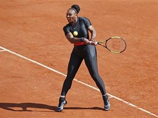 Americká tenistka Serena Williamsová narazila v prvním kole Roland Garros na...