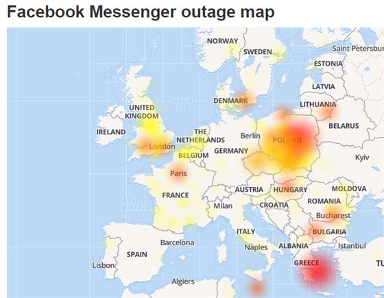 Vypadek Instagramu Facebook: Facebook Messenger Měl Celosvětový Výpadek