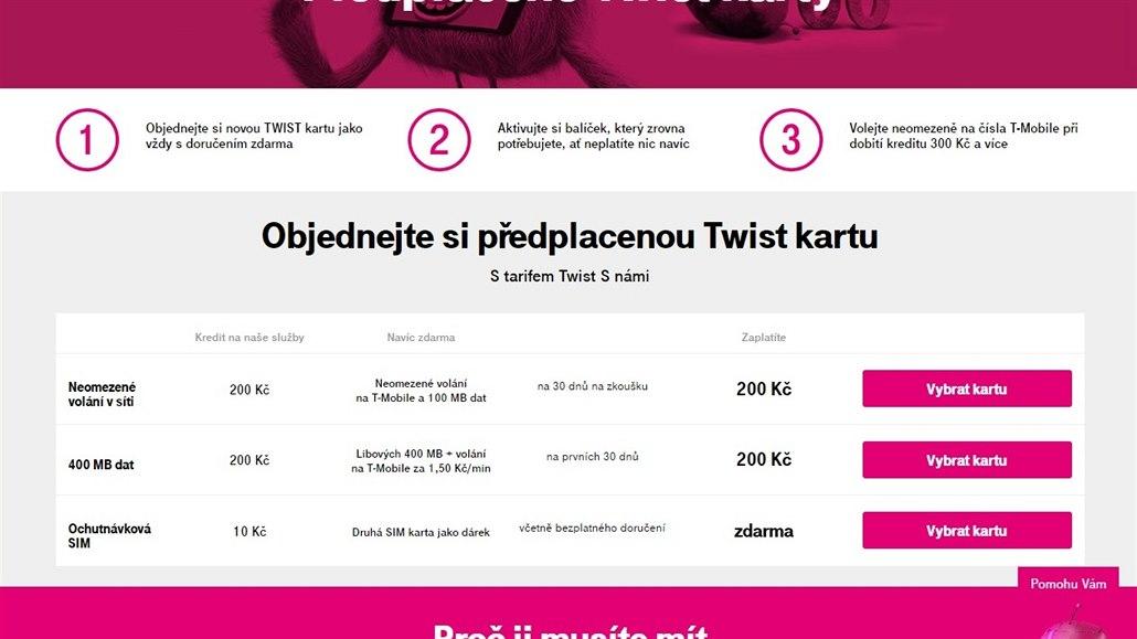 T Mobile Tajil Sazby U Twistu Donutil Vas Hledat Skryty Cenik