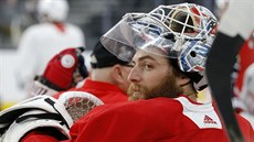 Brankář Washingtonu Braden Holtby.
