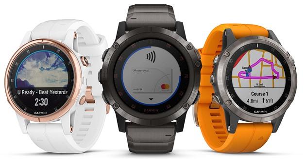 Garmin představil hodinky Fenix PlusŠpičkové hodinky Garmin Fenix 5 jsou