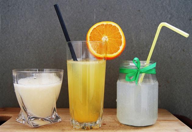 Ti, kteří chtějí během tréninku doplnit tekutiny iontovými nápoji, mohou