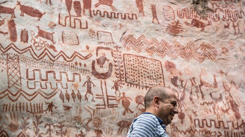 Vedci Objevuji V Kolumbii Prastare Skalni Kresby Diky Miru S