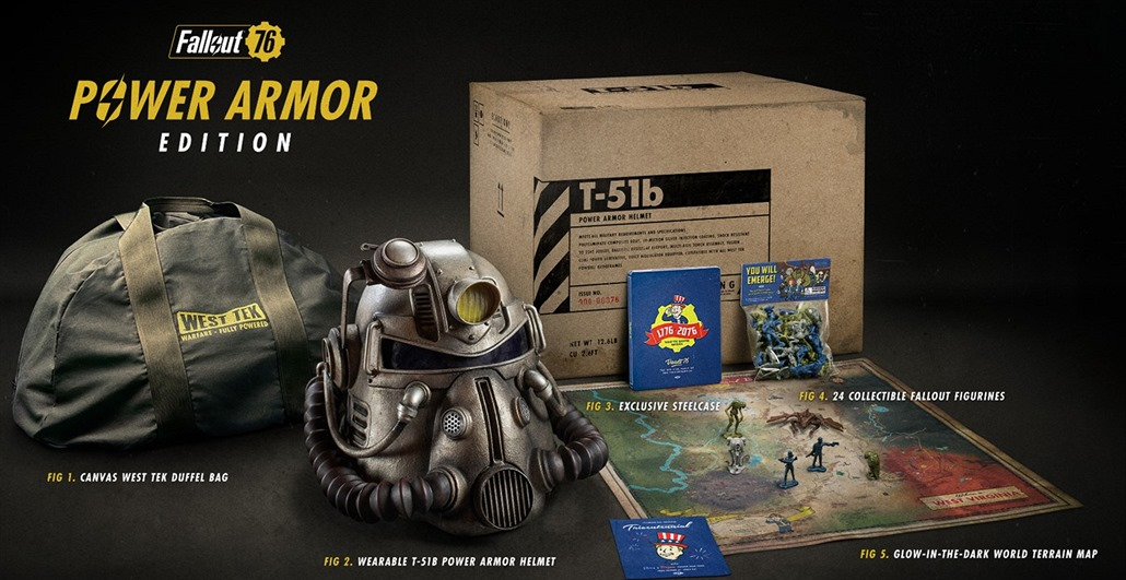 Fallout 76 Power Armor Edition