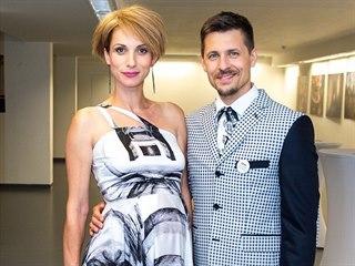 Zuzana Kanócz se svým partnerem Jurajem Lojem