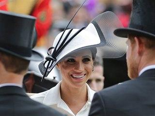 Vévodkyně Meghan na dostizích (Ascot, 19. června 2018)