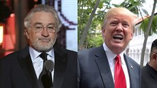 Robert De Niro a Donald Trump