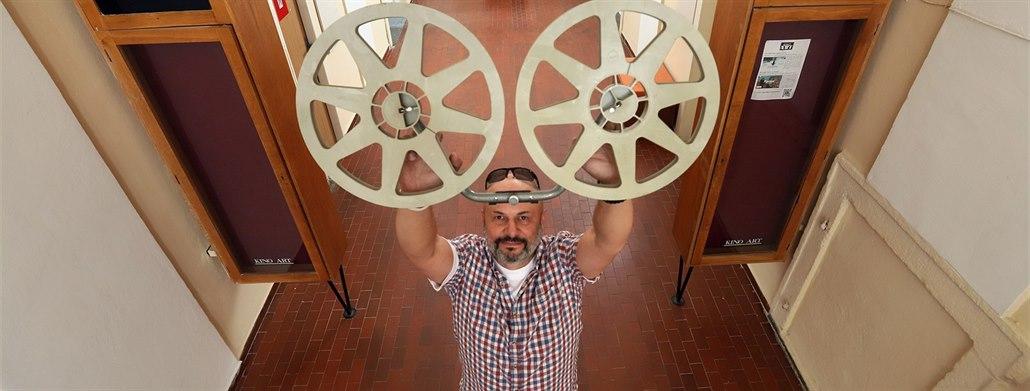 Digitalizace přinese divákům chebského kina Art lepší zvuk i obraz