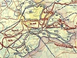 Trofejní plán nacistické operace Barbarossa, který zveřejnilo ruské...