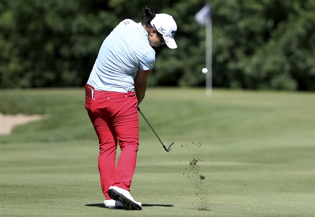 Kim Si-jong na turnaji Thornberry Creek Classic.
