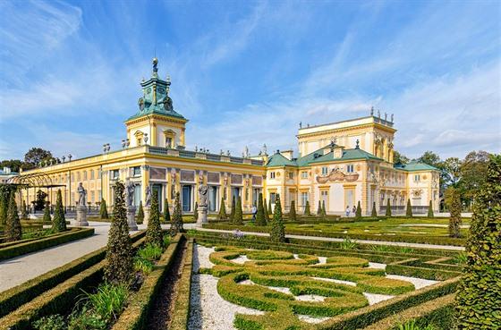 Palác Wilanow, rezidence krále Jana III., stojí kousek za Varšavou. Místo...