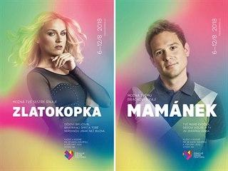 Plakáty k letošnímu ročníku festivalu Prague Pride