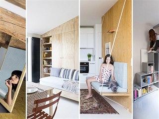Malý byt musí být především šikovný. Bez chytrých řešení a zajímavých nápadů se...