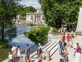 Varšavský palác Lazienki zkonce 17. století je umístěný uprostřed největšího...
