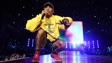 Pharrell Williams s kapelou N.E.R.D. na Colours of Ostrava (18. července 2018)