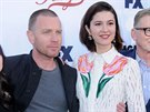Ewan McGregor a Mary Elizabeth Winsteadová (11. 5. 2017, Hollywood)