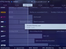 Nový set-top-box O2TV