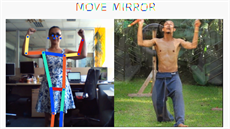 Move Mirror od Google