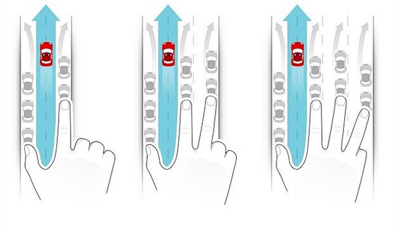 Nový způsob řazení v jízdních pruzích při průjezdu policie, hasičů a záchranářů.