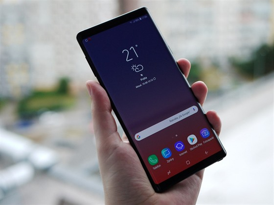 Samsung Galaxy Note 8 a Samsung Galaxy Note 9
