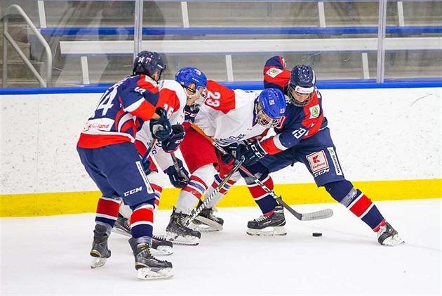 0a2905e903f13 Hokejová osmnáctka deklasovala Slováky a v Kanadě skončila pátá ...