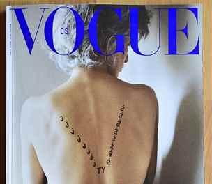 Módní bible Vogue přichází do Česka, titulní stránka patří Olze Havlové