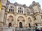 Katedrála de la Encarnación ve španělské Málaze