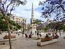 Plaza de la Merced ve španělské Málaze