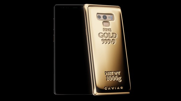Caviar Samsung Galaxy Note 9 Fine Gold_1