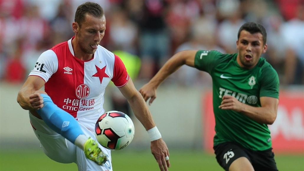 Slavia - Jablonec, oslavy titulu ještě nebudou, v útoku je Škoda