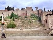 Pevnost Alcazaba a Teatro Romano ve španělské Málaze