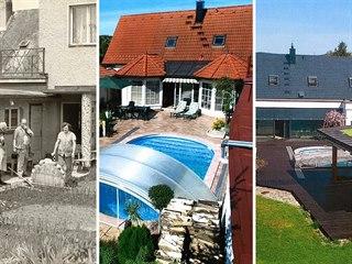 Dům prošel postupně několika rekonstrukcemi. Za poslední čtvrtou proměnou stojí...