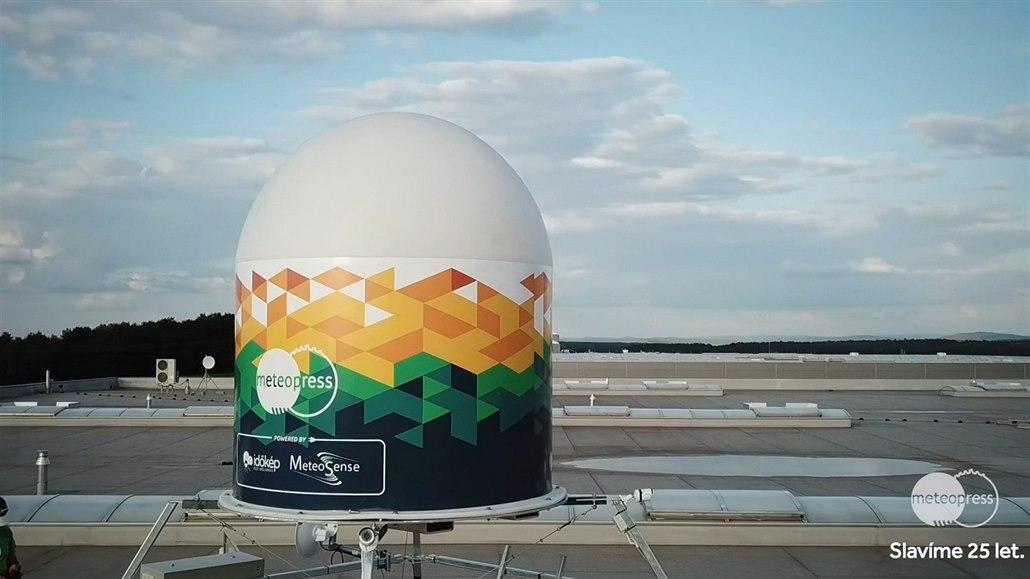 V Nýřanech ukázali nový radar Meteopressu - iDNES.tv