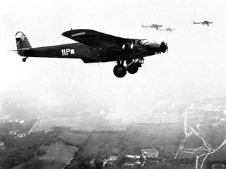 Třímotorové bombardéry Avia F.IX československého letectva