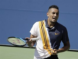 Australan Nick Kyrgios ve 2. kole US Open.
