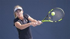 Elizabeth Mandlik v juniorce US Open.