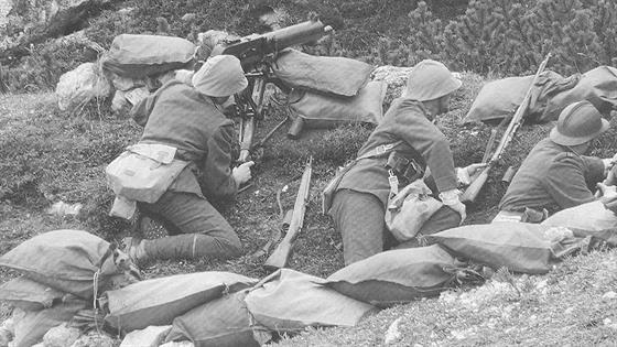 V bitvě u Doss Alto padlo sedm československých legionářů