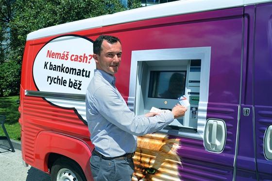 Pojízdný bankomat