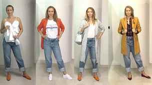 Devadesátkový trend znovu na scéně. Čtyři tipy, jak nosit džíny do pasu