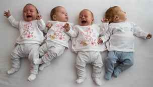 Děti rozeznám, i když brečí, říká maminka čtyřčat