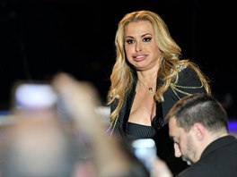 2015 Anastacia in concert - Resurrection Tour Padua - Italy 15 January 2015