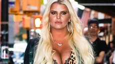 Jessica Simpson is spotted heading out for dinner in New York. Jessica looked...