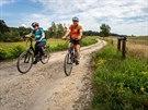 Okolí Slavonic nabízí spoustu zážitků pro cyklisty.