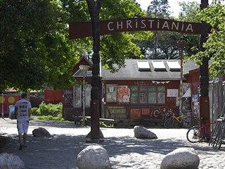 Vítejte ve Svobodném městě Christiania. (3. června 2013)