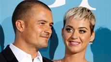 Orlando Bloom a Katy Perry (Monako, 26. září 2018)