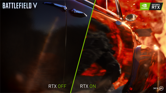 Battlefield 5 - RTX OFF/ON