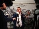 Stávající brněnský primátor Petr Vokřál reaguje na vznik čtyřkoalice, která...