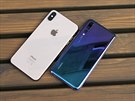 Huawei P20 Pro a Apple iPhone XS Max