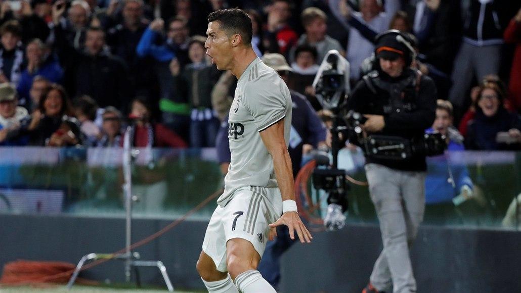 Hvězdný návrat v Lize mistrů: Ronaldo s Juventusem hraje v Manchesteru