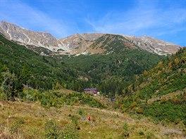Žiarská chata a Žiarská dolina